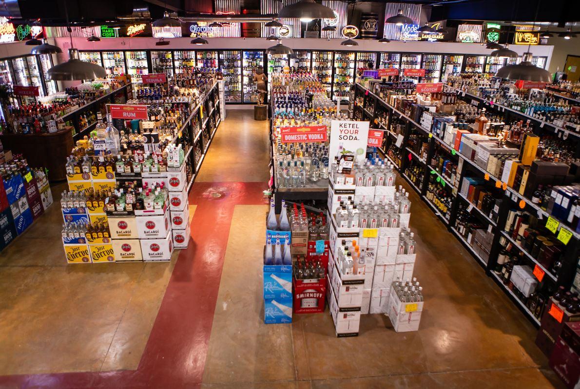 A variety of Liquor